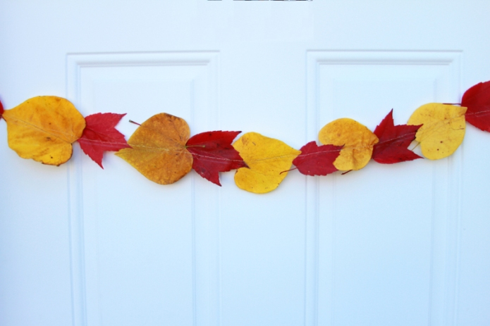 Real Leaf Garland