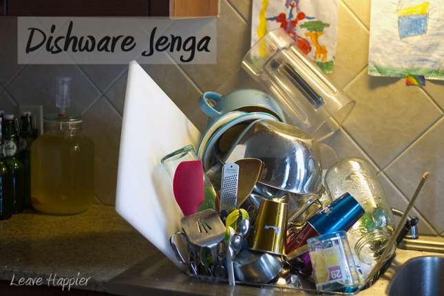 Dishware Jenga